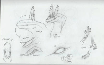 Manaeaters - sketches