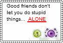 Good Friends Stamp