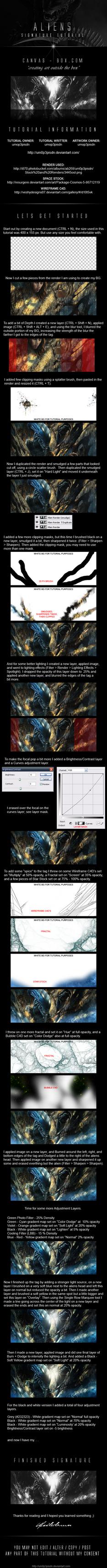 A  L  I  E  N  S  tutorial by um0p3pisdn