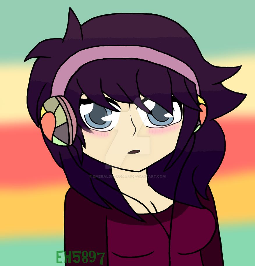 Oh hey look it's a shitty drawing of me by EmeraldHero5897