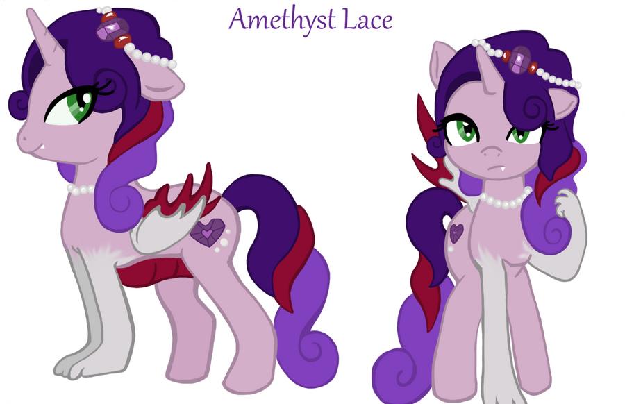 Amethyst Lace by traffycake