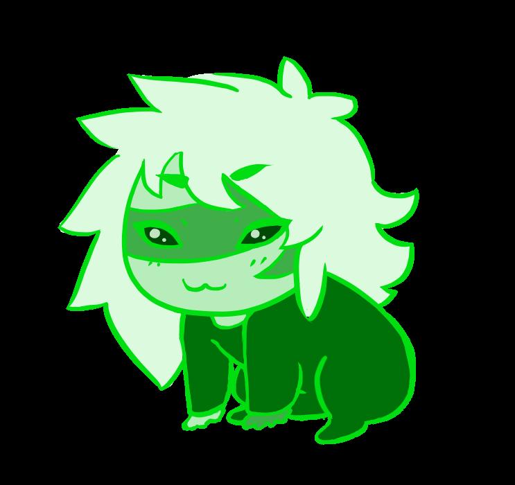 Green Jasper Gemling by traffycake