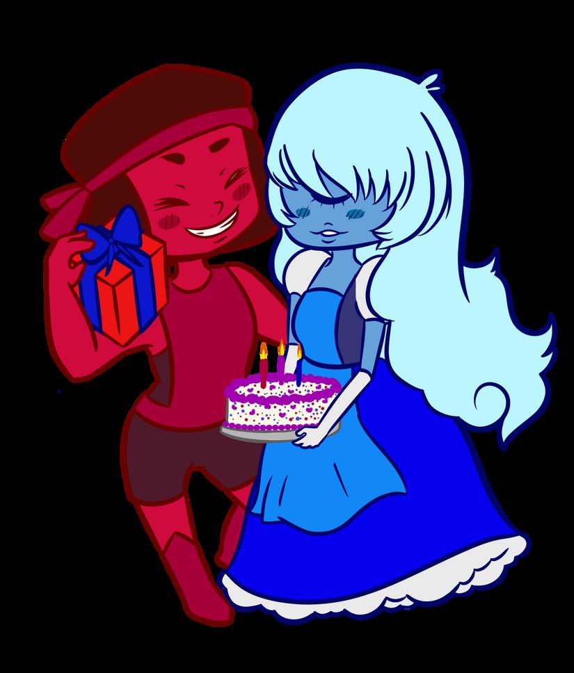 Birthday Present: Rupphire by traffycake