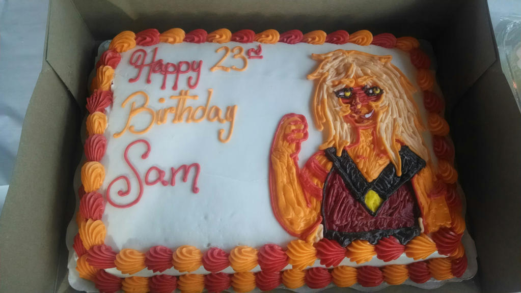 Jasper: My Birthday Cake by traffycake