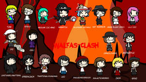 Walfas-Clash: Choose the Players!