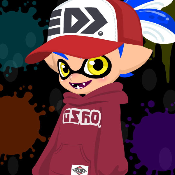 my male inkling splatoon inkling creator by animeblasz on deviantart