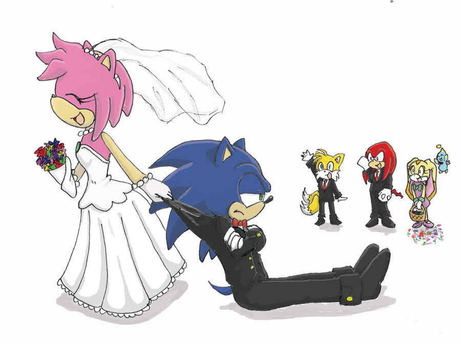 Sonic Getting Married by VanillaREM on DeviantArtSonic And Amy Wedding