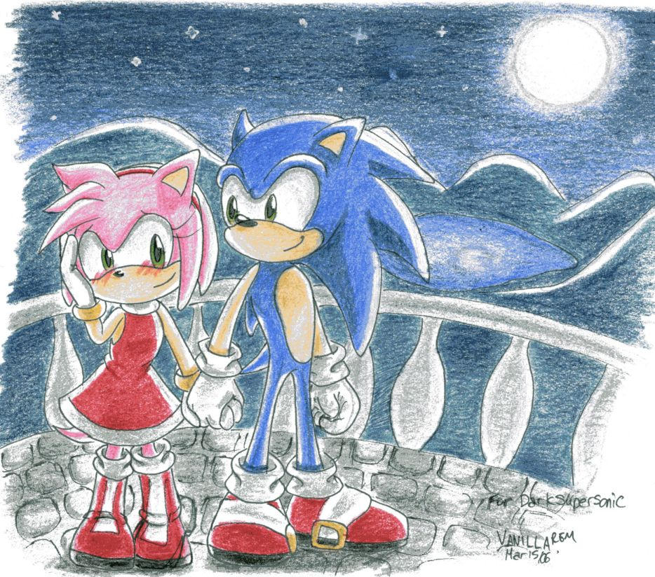 Sonamy for Darksupersonic by VanillaREM