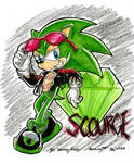 Scourge aka Evil Sonic