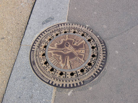Manhole Cover in Berlin