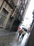 Back Street in Dublin
