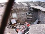 Destroyed Cafe at Cres