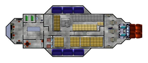 Barn Door Deck Plan 1