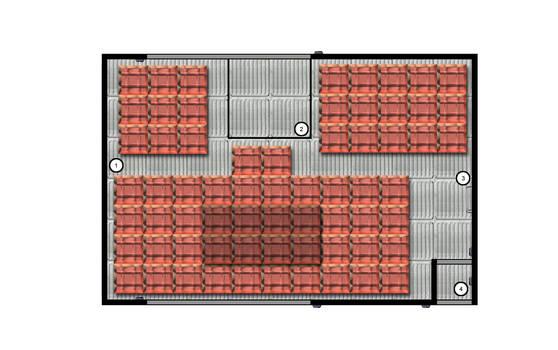 Barn Door Deck Plan 2