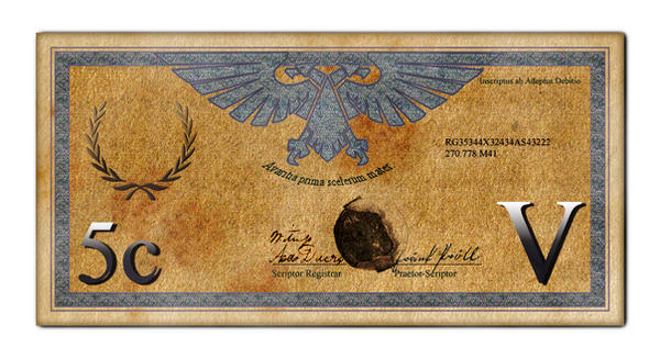 Imperial 5 Credit Bill