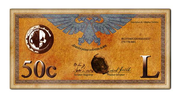 Imperial 50 Credit Bill