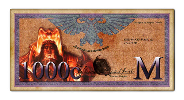 Imperial 1000 Credit Bill