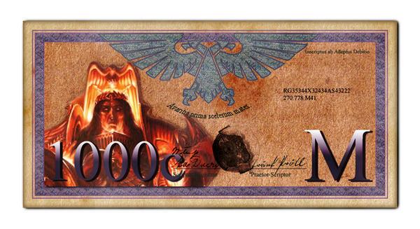 Imperial 1000 Credit Bill