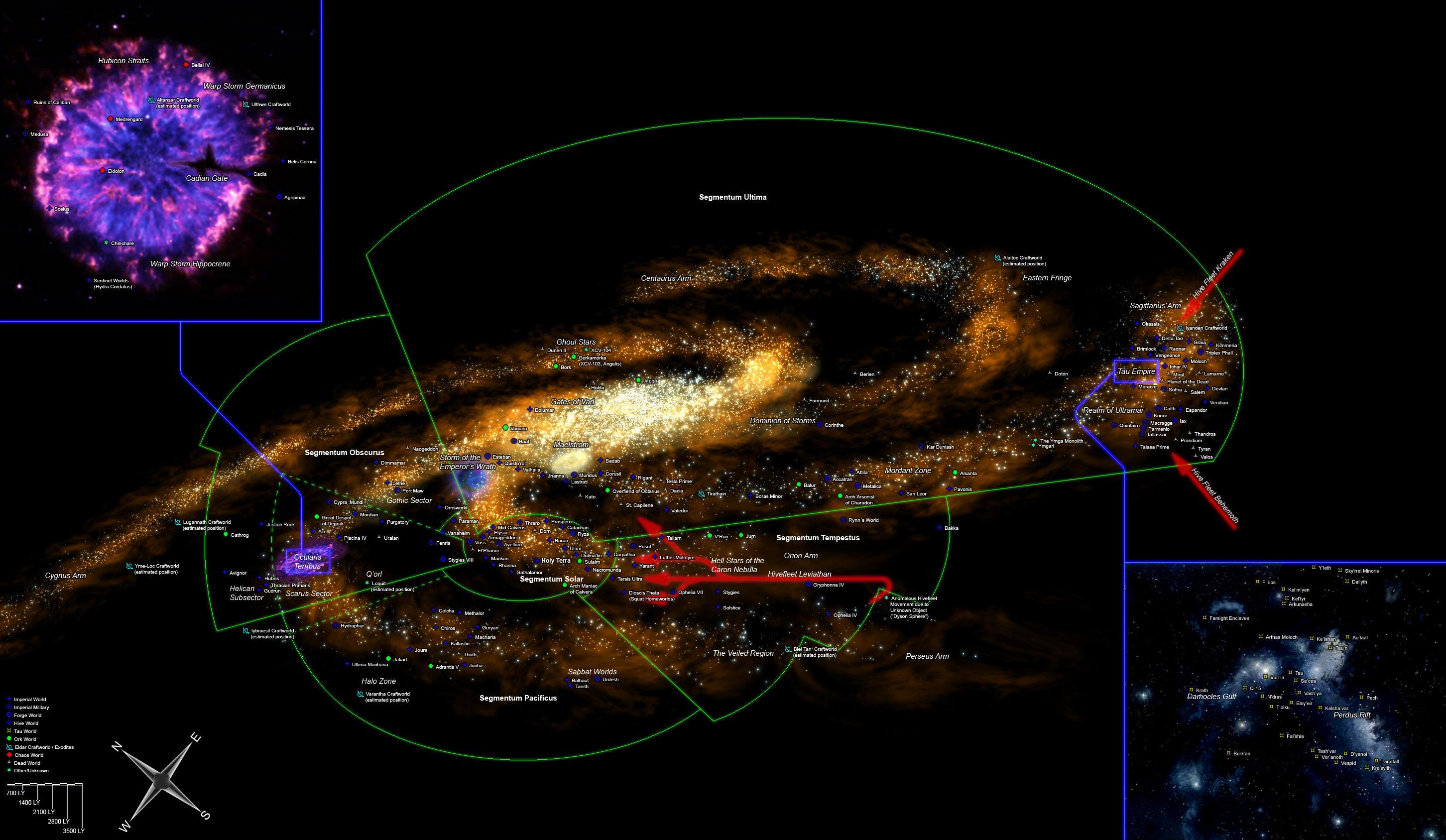 The Imperium Of Man Vs The Galactic Empire Spacebattles