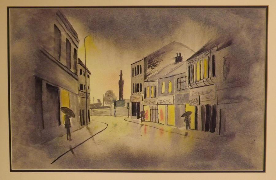 Grimsby in the Rain by markeverard