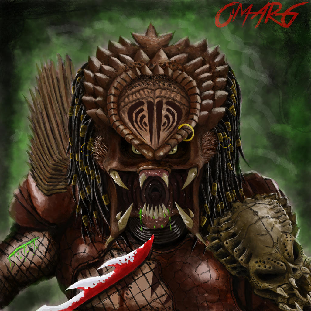 bad blood Predator by OmarGarciaArt on DeviantArt