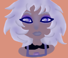 Young Amethyst by fuzzyhairedchick