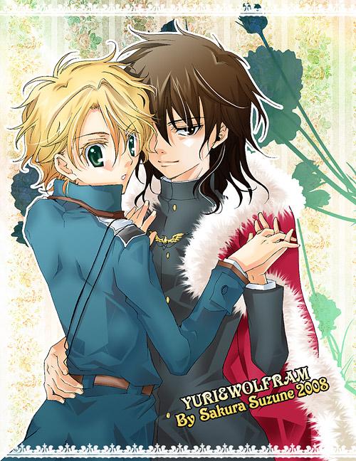 Yuri and Wolfram by SuzuneSakura