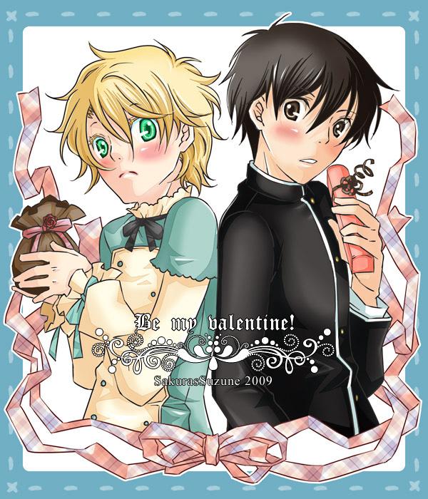 Yuri and Wolfram. by SuzuneSakura
