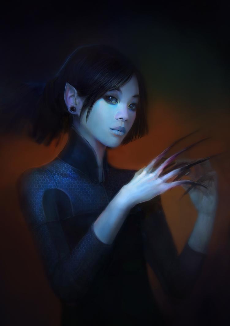Vampire Girl By Zoonoid On Deviantart