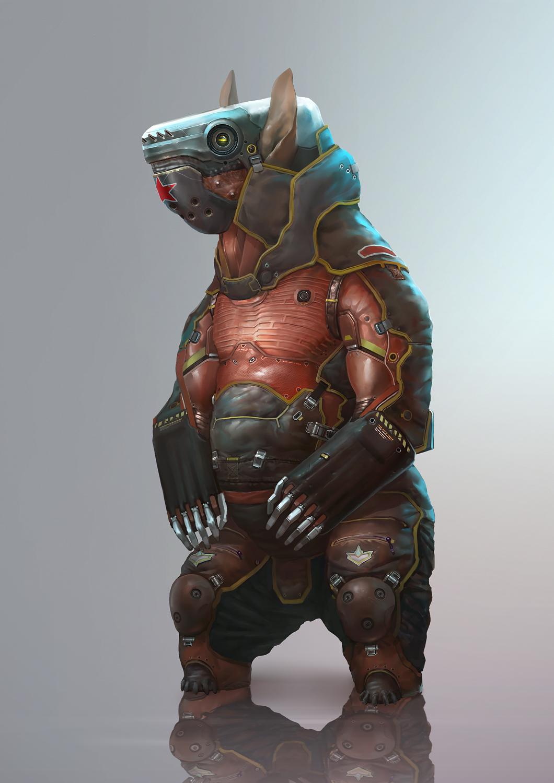 cyber-bear by Zoonoid