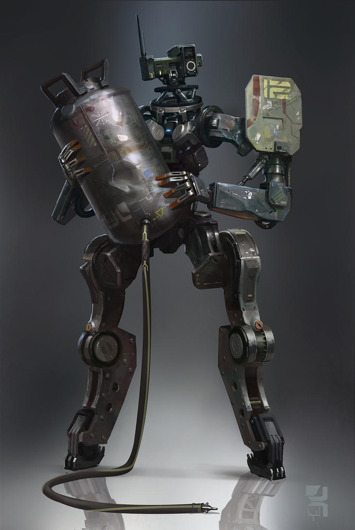 Machine_27 by Zoonoid