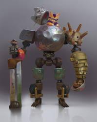 Robo_Cat by Zoonoid