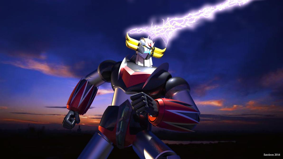 Goldrake - Space Thunder by satoleon