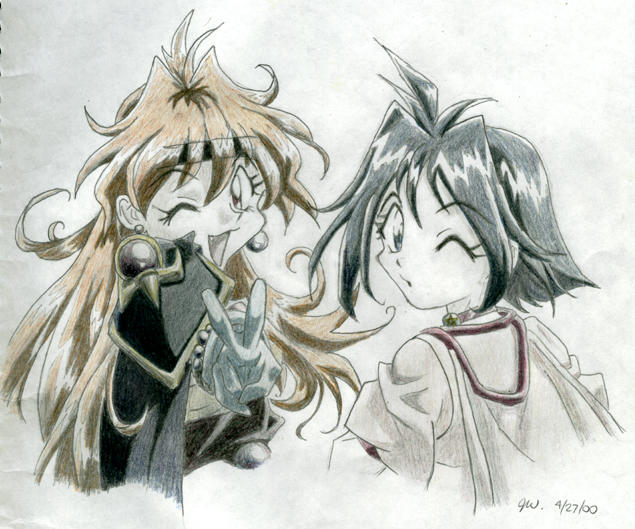 Slayers Fanart By Raisukitty