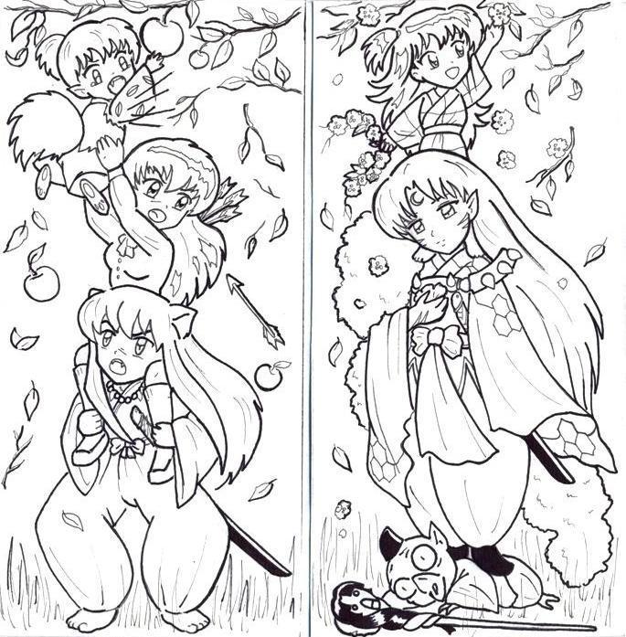 bookmark before coloring by Teela-akimako-cz on DeviantArt