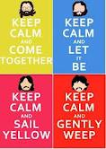 Keep Calm and BEATLES!!!! by Dorfal