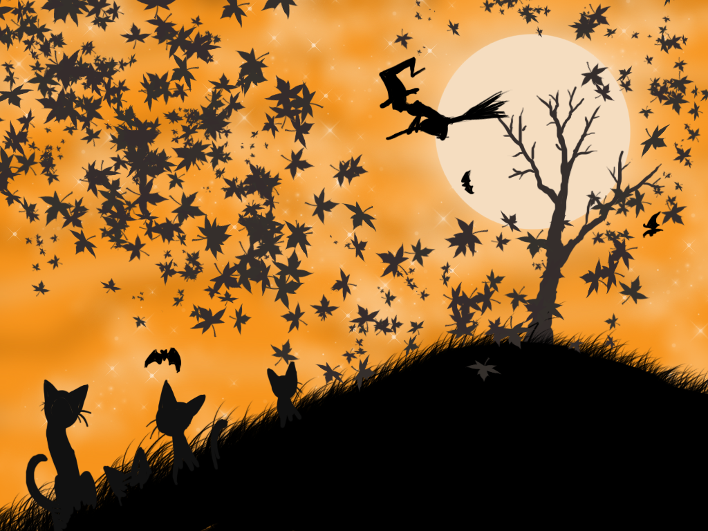 Halloween Wallpaper by BasiliskZero