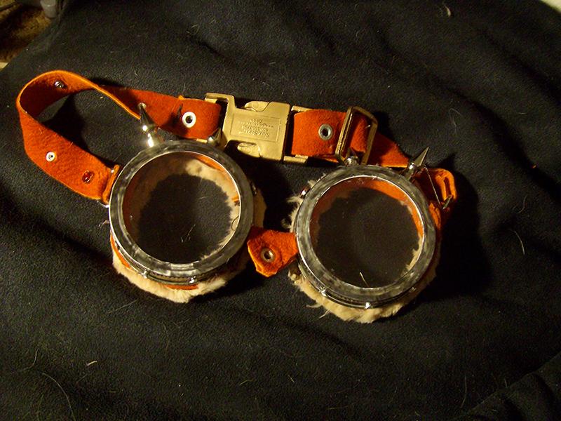 Steampunk Goggles by BasiliskZero