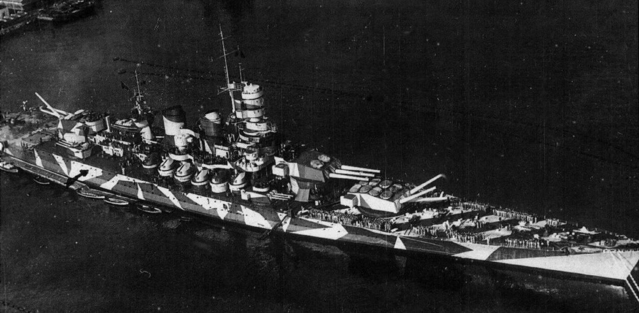 Italian Battleship Roma by achmedthedeadteroris