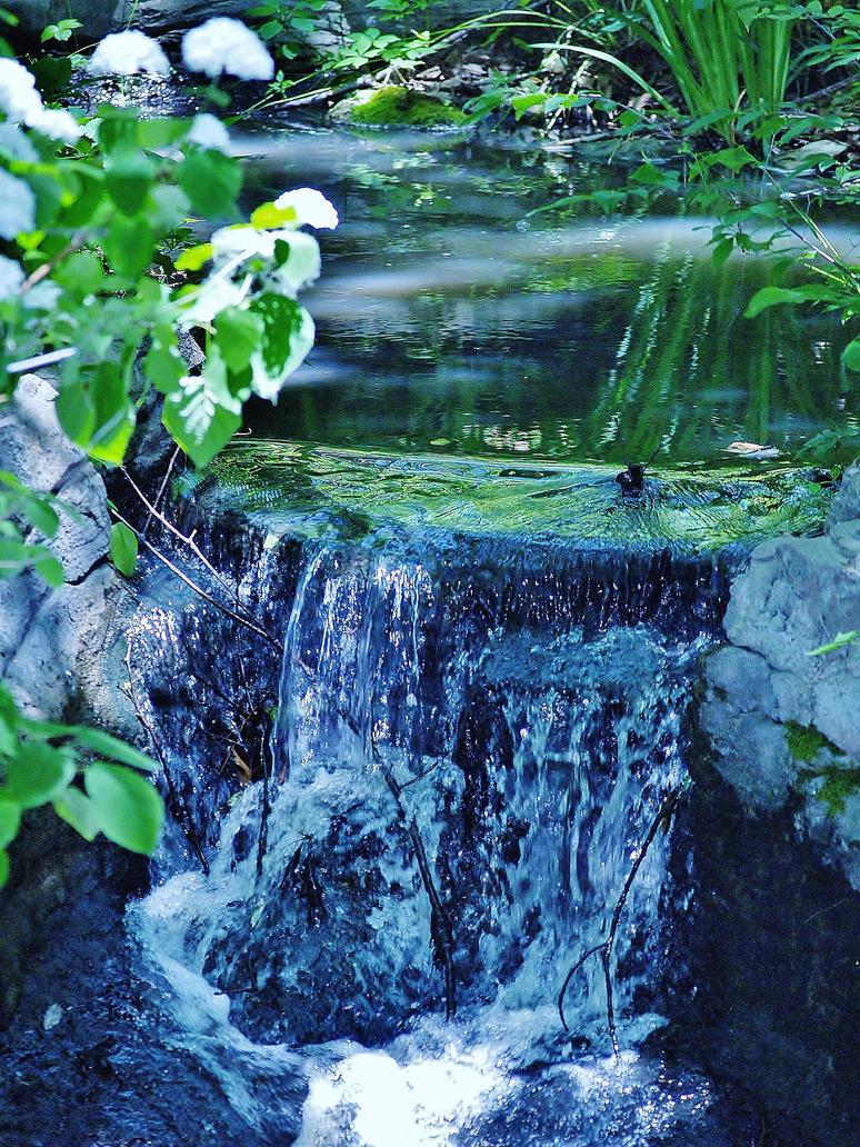 Waterfall by TheInfernalDemon