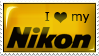 Stamp - I Love My Nikon by darkaion