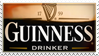 Stamp - Guinness Drinker by darkaion