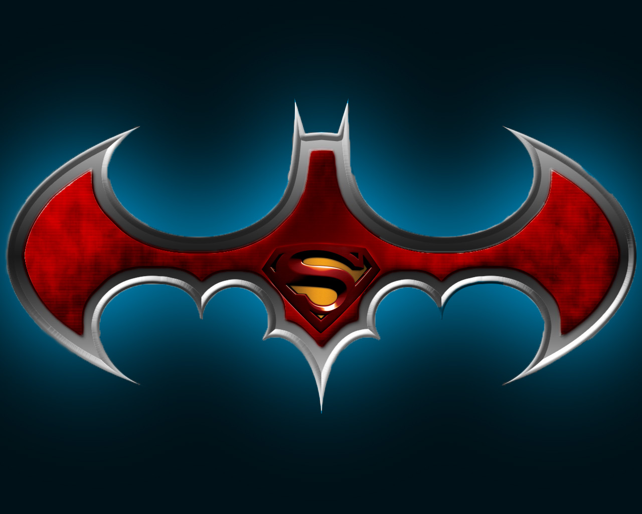 batman vs superman logo by psychoticeditor on deviantart