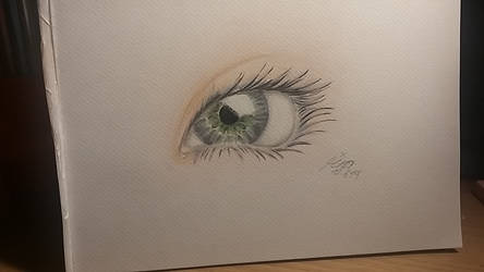 Green Gray Eye