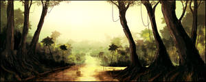 Speedpaint_16 - The Jungle