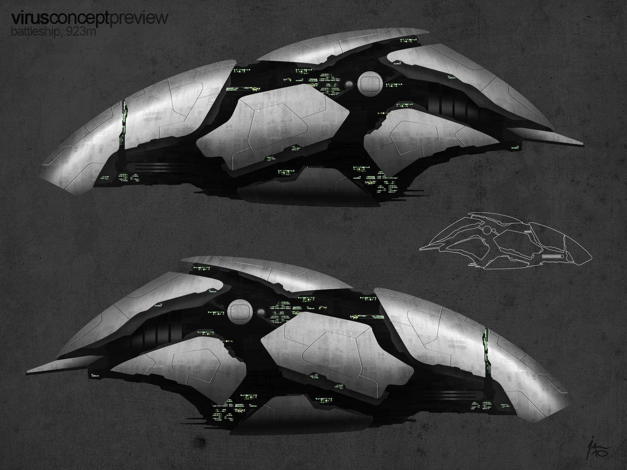virus ship preview by SkipeRcze