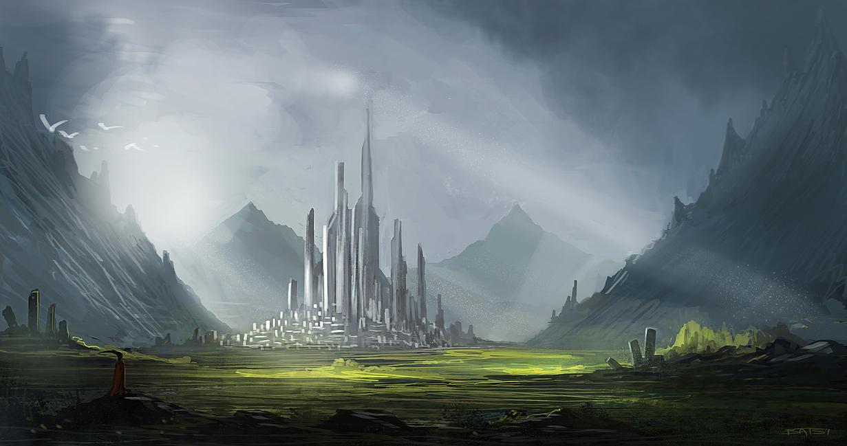 Fantasy Environment by SkipeRcze