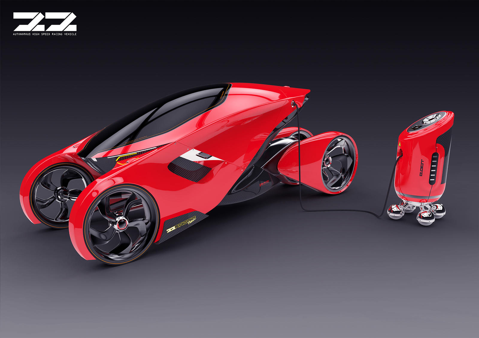 Hi-Speed Racing Vehicle by SkipeRcze