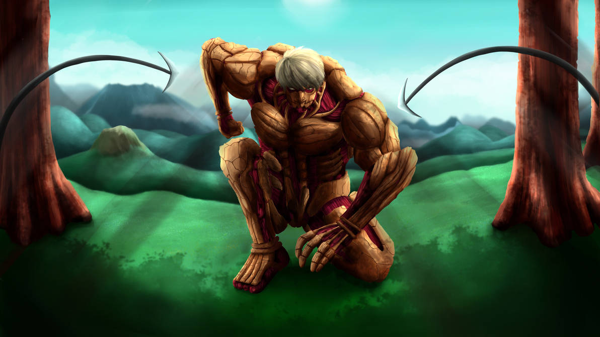Reiner Braun Armored Titan By Axelchange On Deviantart