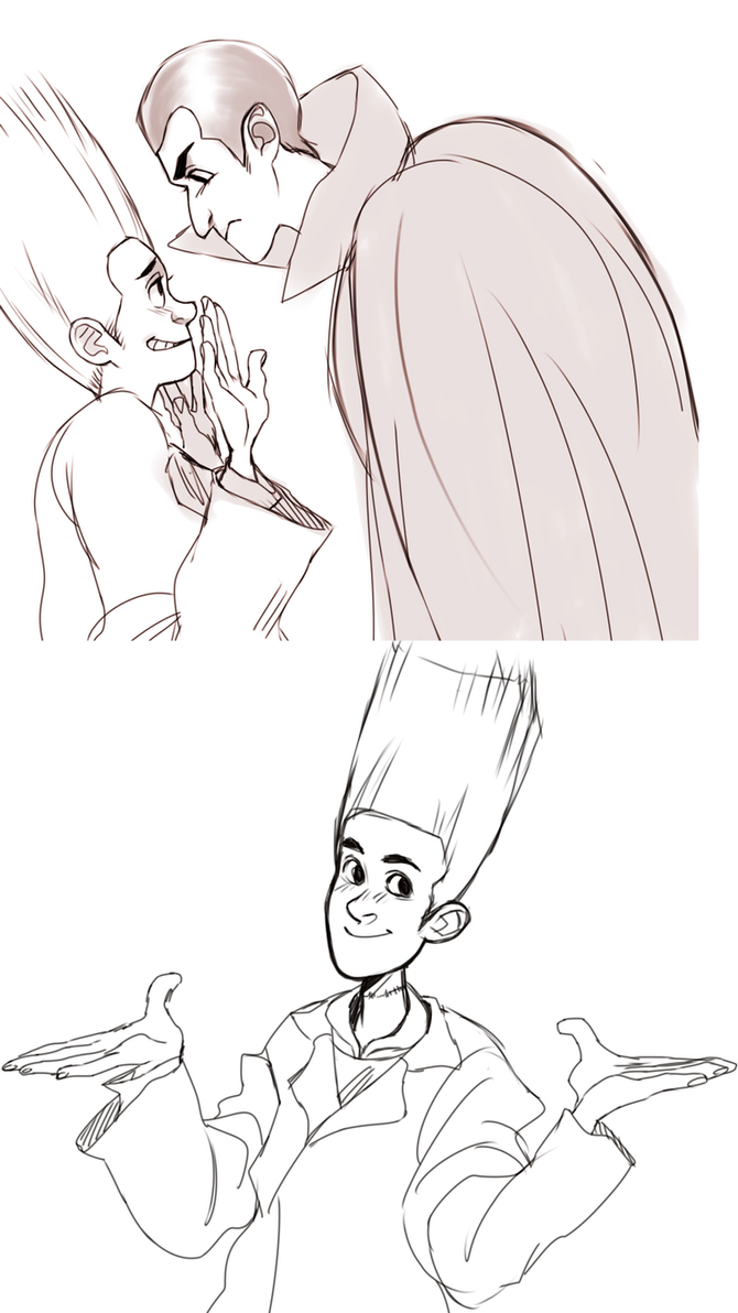 Hotel Transylvania doodles by sharkieboo